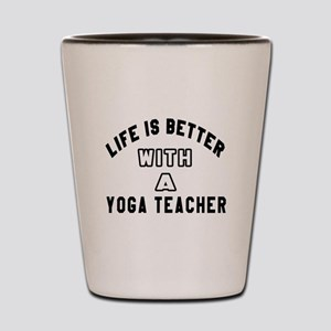 Yoga Designs Shot Glass