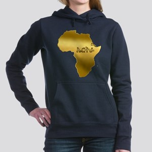 Eritrea in Tigrinya Women's Hooded Sweatshirt