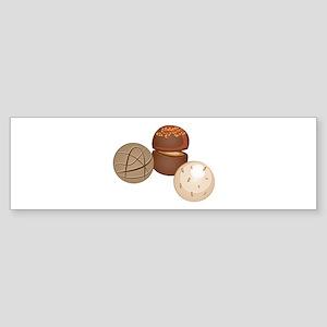 Chocolate Candy Bumper Sticker