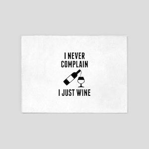 I Just Wine 5'x7'Area Rug