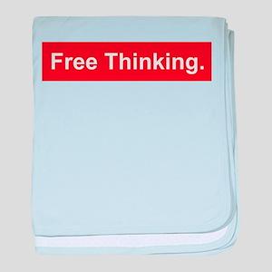 Free thinking baby blanket