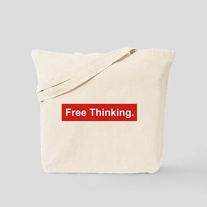 Free thinking Tote Bag