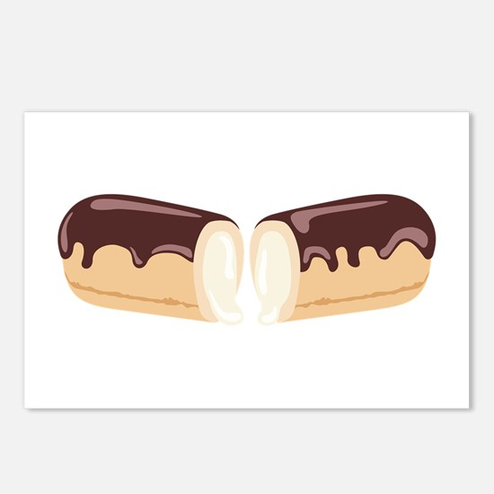 Chocolate Eclair Dessert Postcards (Package of 8)