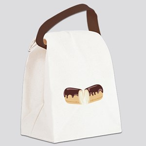 Chocolate Eclair Dessert Canvas Lunch Bag