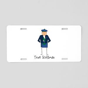 True Scotsman Aluminum License Plate