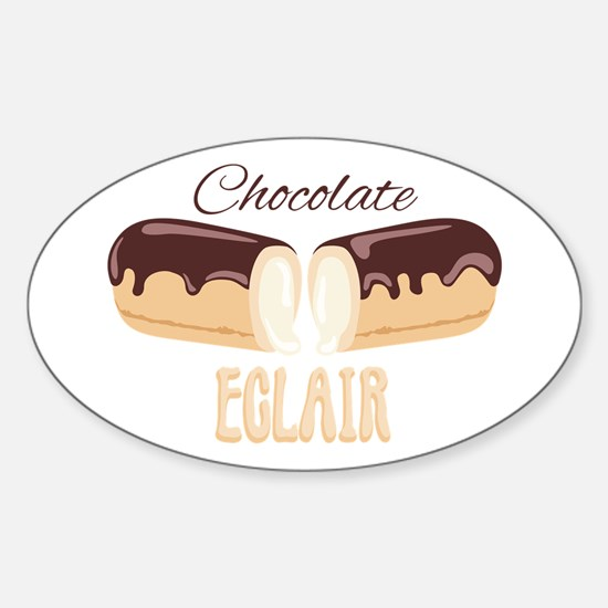 Chocolate Eclair Decal