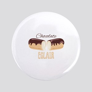 Chocolate Eclair Button