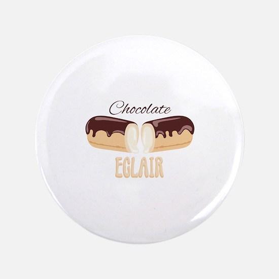 Chocolate Eclair Button
