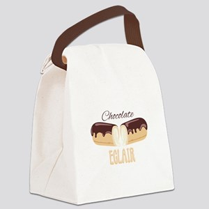 Chocolate Eclair Canvas Lunch Bag