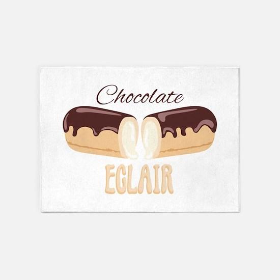 Chocolate Eclair 5'x7'Area Rug
