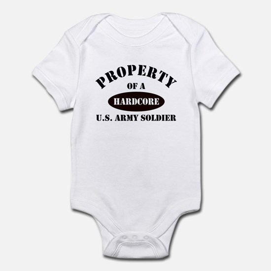Property of a HARDCORE US Army Soldier Infant Cree
