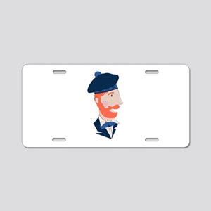 Scottish Man Aluminum License Plate