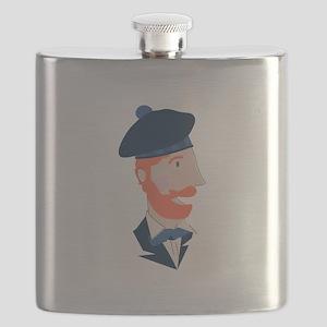 Scottish Man Flask
