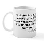 Religion - Unquestionable Ans Mug