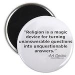 Religion - Unquestionable Ans Magnet