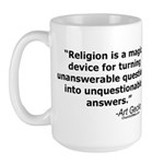 Religion - Unquestionable Ans Large Mug