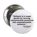 Religion - Unquestionable Ans Button