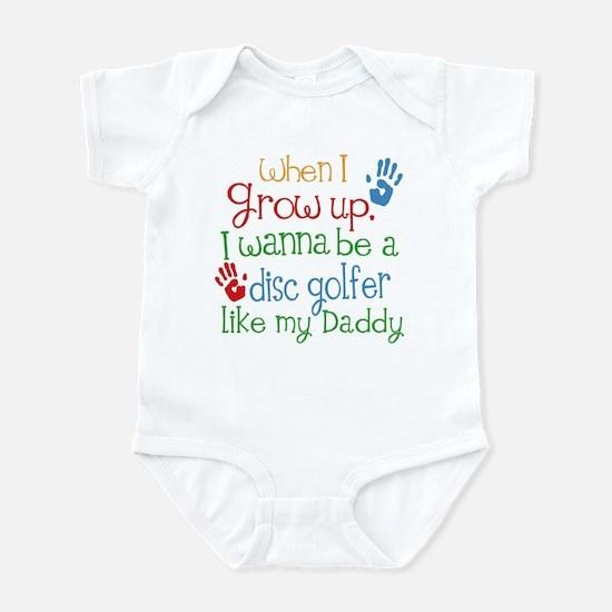 Disc Golfer Like Daddy Infant Bodysuit