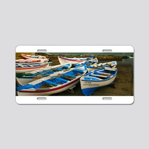 Portuguese harbour Aluminum License Plate