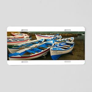 Portuguese harbour Aluminum License Plate
