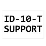 ID-10-T support Postcards (Package of 8)