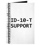 ID-10-T support Journal