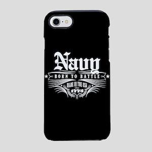 U.S. Navy Born to Battle iPhone 8/7 Tough Case