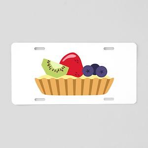 Fruit Tart Aluminum License Plate