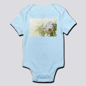 Bouquet of daisies in LOVE Body Suit