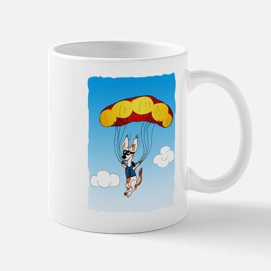 Jackie Fallschirmspringer Mugs