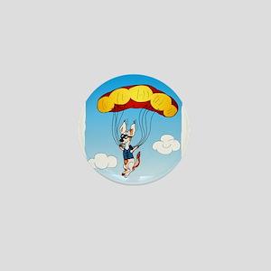 Jackie Fallschirmspringer Mini Button