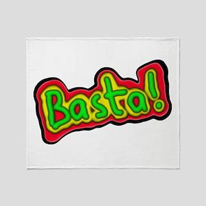 Basta! Throw Blanket