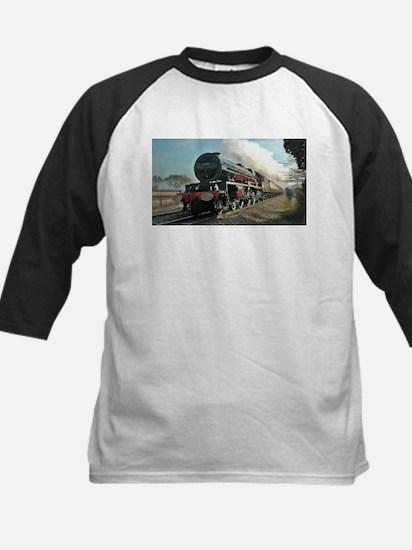 Steam Train Baseball Jersey