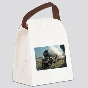 Steam Train Canvas Lunch Bag