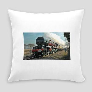 Steam Train Everyday Pillow