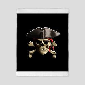 The Jolly Roger Pirate Skull Twin Duvet