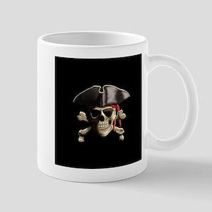 The Jolly Roger Pirate Skull Mugs