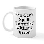 Spell Terrorist Without Error Mug