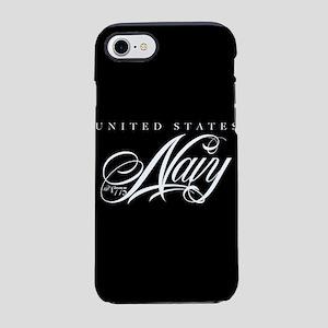 United States Navy Cursive iPhone 8/7 Tough Case