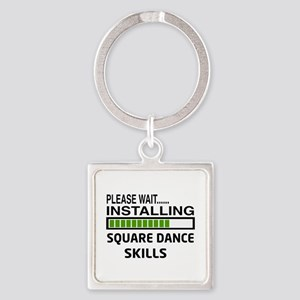 Please wait, Installing Square dan Square Keychain