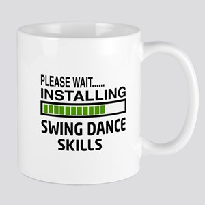 Please wait, Installing Swing dance ski Mug