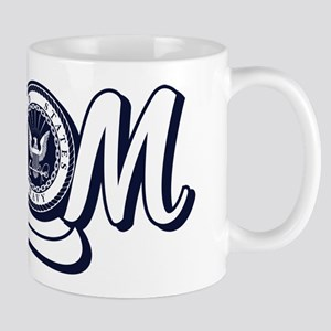 U.S. Navy Mom 11 oz Ceramic Mug