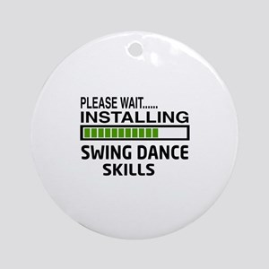 Please wait, Installing Swing dance Round Ornament