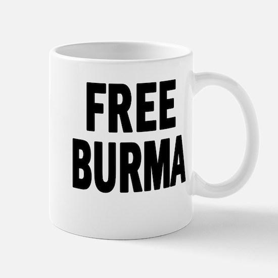 FREE BURMA (Myanmar) Mug