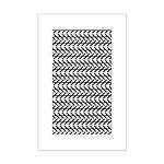 Optical Illusion Mini Poster Print