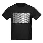 Optical Illusion Kids Dark T-Shirt