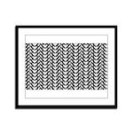 Optical Illusion Framed Panel Print