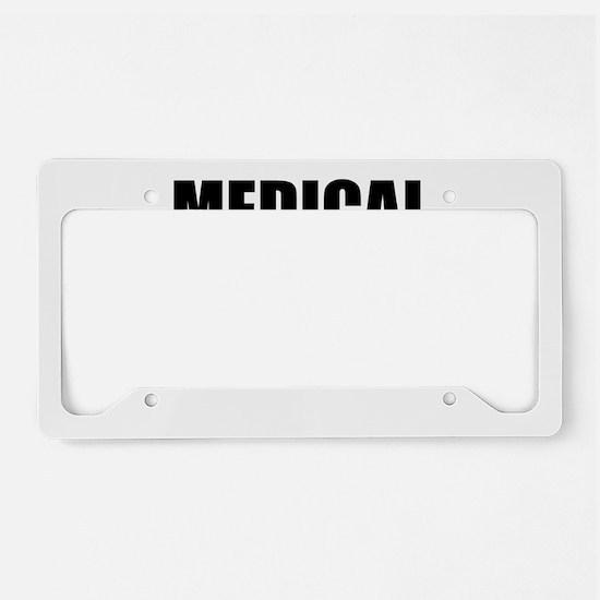 Medical Genius License Plate Holder