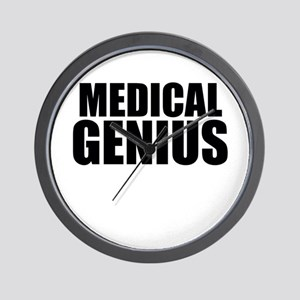 Medical Genius Wall Clock