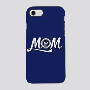 U.S. Navy Mom iPhone 8/7 Tough Case